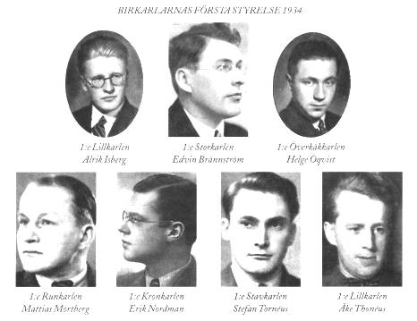 Första styrelsen 1934