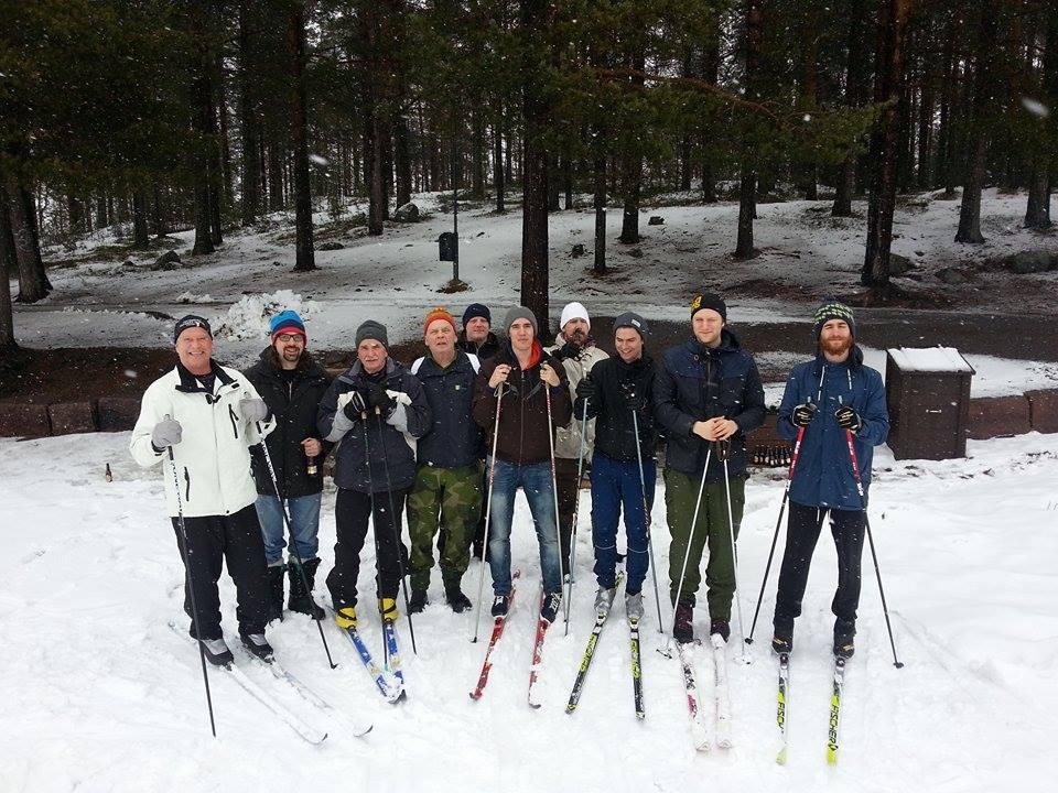 Gruppbild nordligt renne 2015